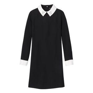 Victoria Beckham x Target   Black Collared Dress